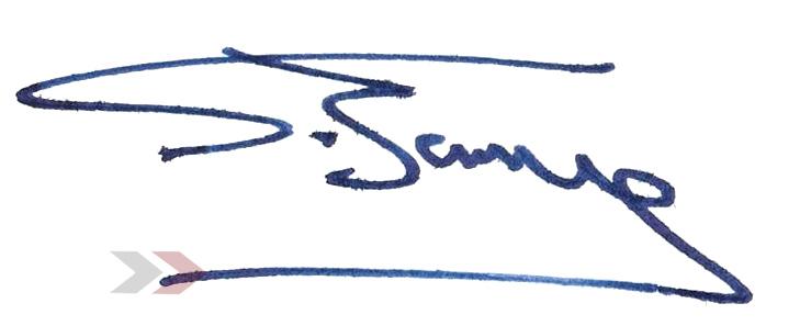 Energiekösungen: Signatur des Geschäftsführers